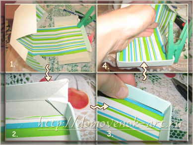 коробка для подарка своими руками