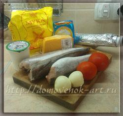 рыба с сыром ингредиенты