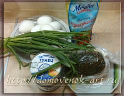 салат из морской капусты ингредиенты