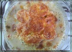 запеченная рыба в духовке с сыром