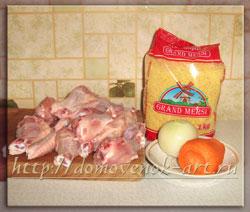ингредиенты для приготовления пшенной каши