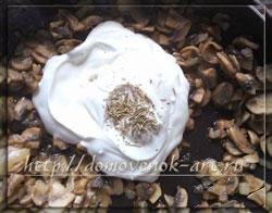 блюда из картошки с грибами в духовке