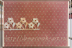 как сделать открытку на день рождения бабушке