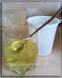 мыльная основа для мыла в виде лимона