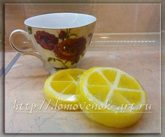 мыло из мыльной основы лимон мастер-класс
