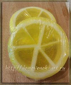 мыловарение в домашних условиях: мыло в форме лимона