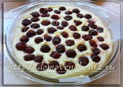 простые пироги, рецепт пирога с вишней