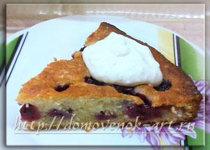 выпечка с вишней венский пирог