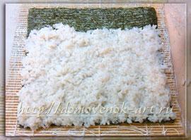 как сделать суши в домашних условиях рецепт с угрем и икрой