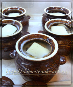 кулинарные рецепты с фото вареники в горшочках