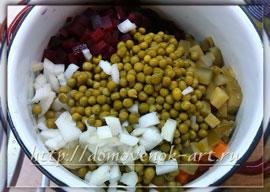 постный салат винегрет