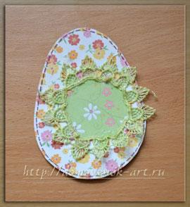 пасхальный подарок открытка яйцо мастер класс