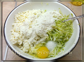 блюда из кабачков с фото оладьи