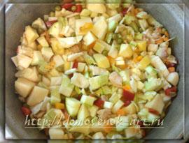 пошаговый рецепт приготовления овощного рагу
