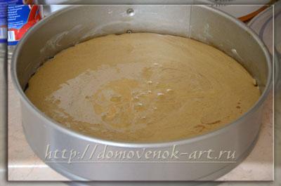 Рецепт бисквитного торта с клубникой
