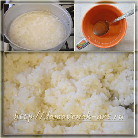 рис для роллов с сыром