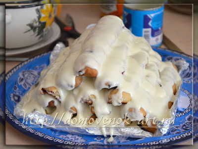 Торт Вишневая горка фото рецепт