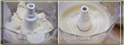 творожный крем для торта с клубникой и желе