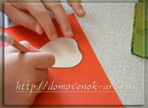поделки из бумаги детские подвеска