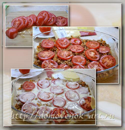 кулинарный рецепт лазаньи с фаршем с пошаговыми фото