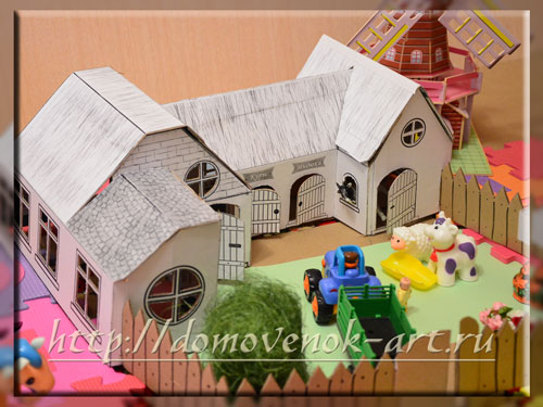 игрушечная ферма своими руками