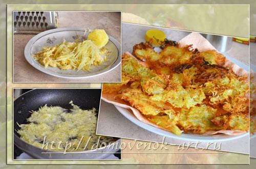картошка для салата гнездо глухаря