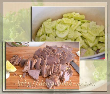 салат охотник простые рецепты праздничных салатов