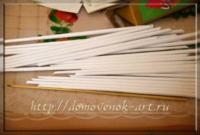 бумажная лоза для прямоугольной корзины