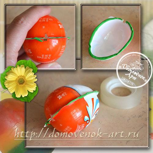 форма для пасхального мыла-яйца