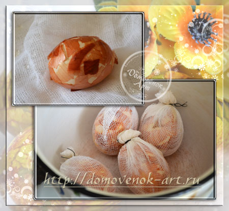 Мраморная покраска яиц на Пасху мастер-класс