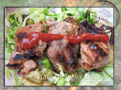 пошаговый рецепт шашлыка из свинины