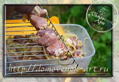 рецепт шашлыка из свинины как жарить