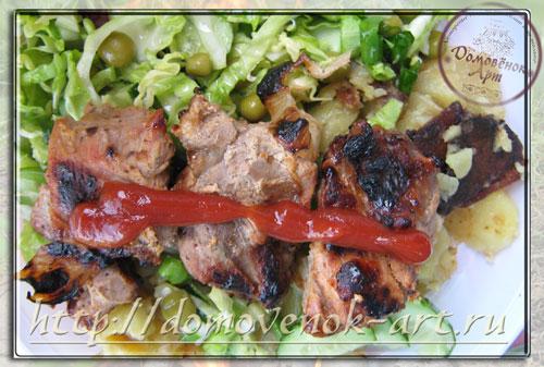 Рецепт шашлыка из свинины подробно
