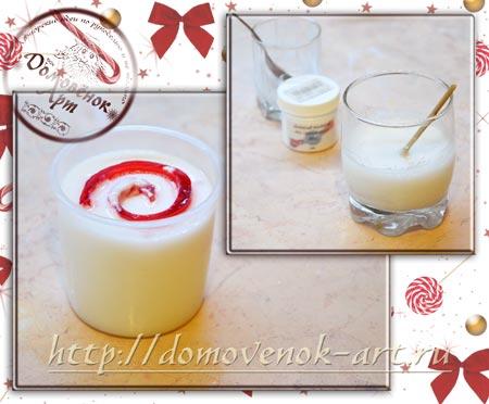 Спиральное мыло конфета из основы