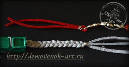 braslet-iz-kozhanyx-shnurov-krajnyaya-kosichka-s-zazhimom