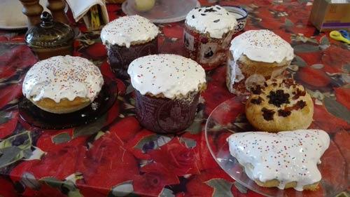 Пасхальные куличи по рецепту от блога Домовёнок-Арт