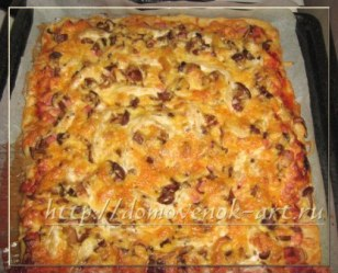 Вкусная пицца рецепт