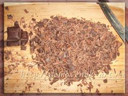 шоколадная стружка для украшения торта