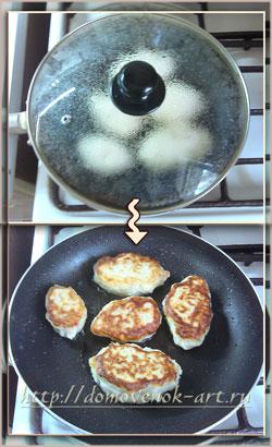 картофельные пирожки приготовить