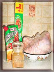 курица в рукаве ингредиенты
