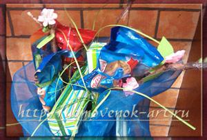Как красиво упаковать трусы в подарок