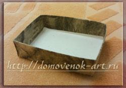 коробочка для мыла мастер класс