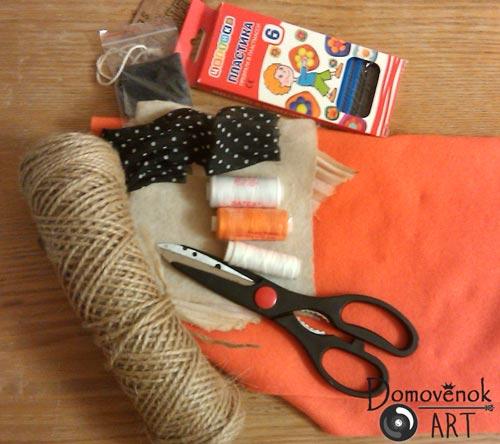 Материалы для шитья домовёнка своими руками