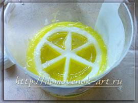 мастер-класс мыловарение из мыльной основы лимонное мыло
