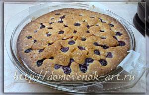 пирог с вишней венский