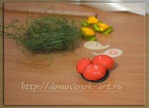 декор для пасхального сувенира своими руками
