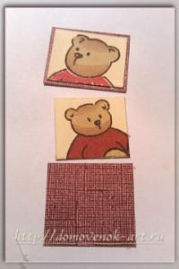 мастер-класс открытка своими руками с медвежатами