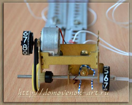механическая часть игрушечного лифта