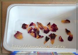лепестки роз для мыла