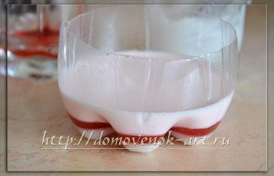 мастер-класс мыло из основы с лепестками розы